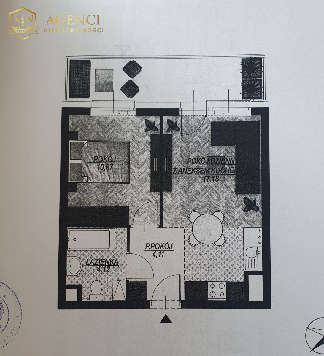 Mieszkanie dwupokojowe na sprzedaż Białystok, Wysoki Stoczek, Aleja Jana Pawła II  36m2 Foto 1