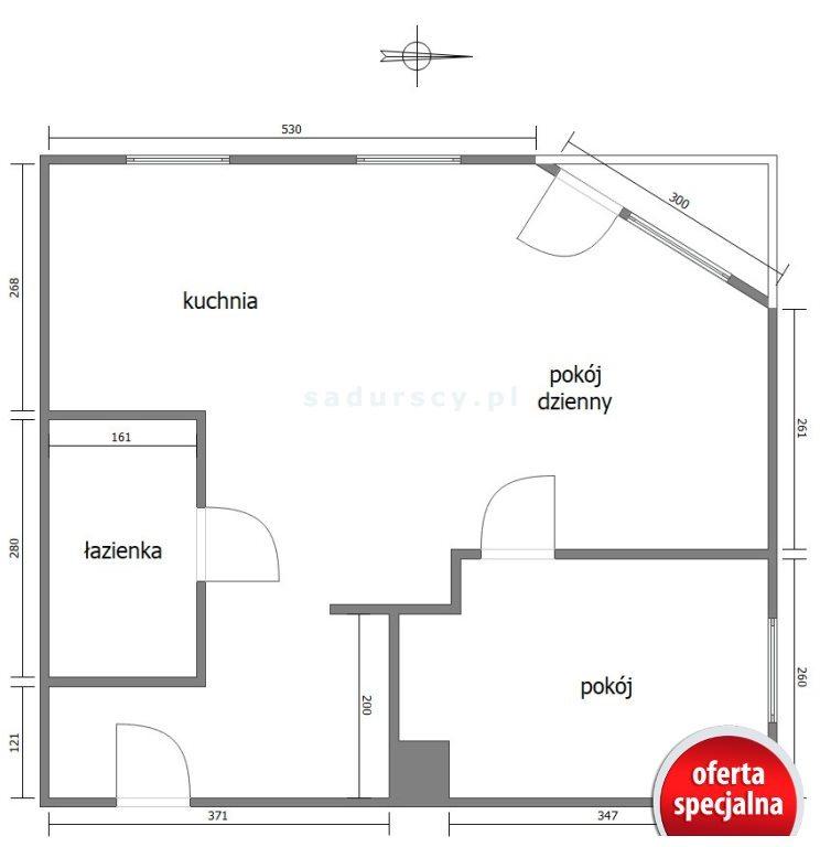 Mieszkanie dwupokojowe na sprzedaż Kraków, Mistrzejowice, Mistrzejowice, Bohaterów Września  49m2 Foto 3