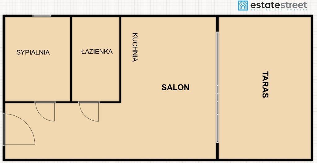 Mieszkanie dwupokojowe na sprzedaż Bielsko-Biała, Lipnik  47m2 Foto 9