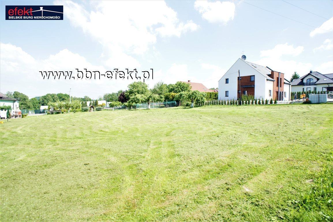 Działka budowlana na sprzedaż Bielsko-Biała, Hałcnów  1104m2 Foto 2