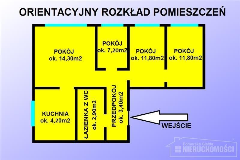 Mieszkanie czteropokojowe  na sprzedaż Szczecinek, Jezioro, Kościół, Park, Plac zabaw, Przedszkole, S, Spółdzielcza  57m2 Foto 3