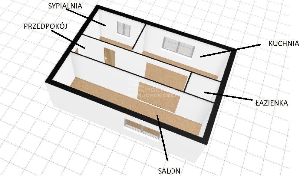 Mieszkanie dwupokojowe na sprzedaż Kudowa-Zdrój  46m2 Foto 5