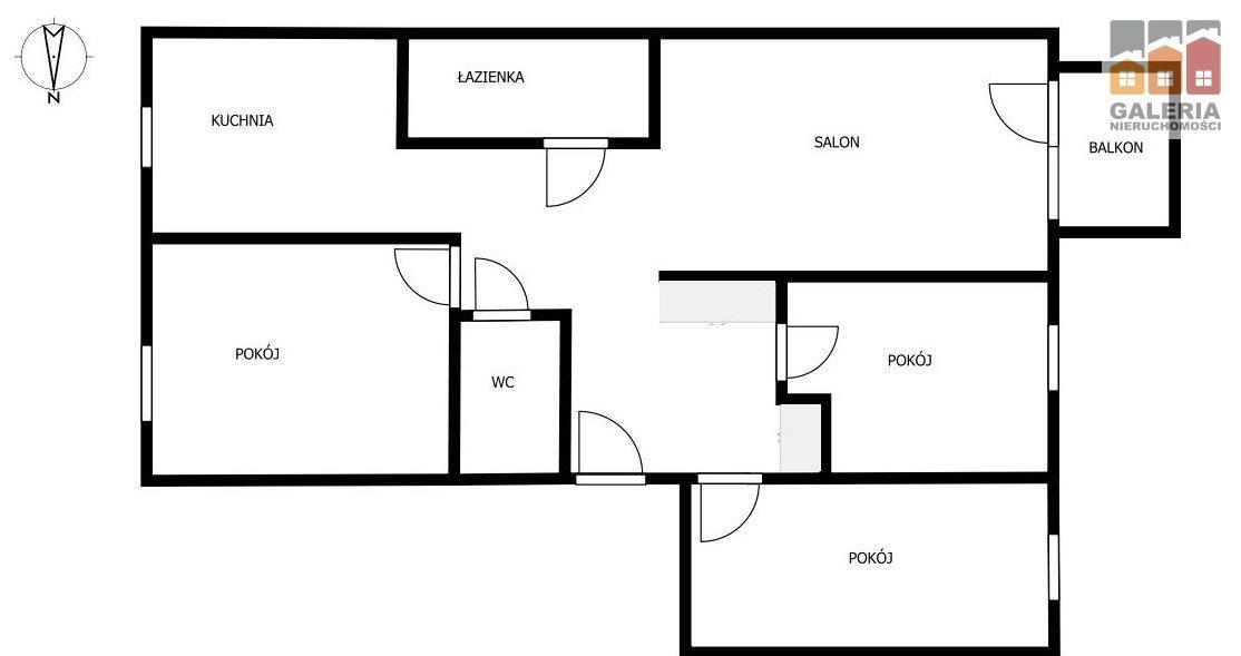 Mieszkanie czteropokojowe  na sprzedaż Rzeszów, Nowe Miasto  62m2 Foto 10