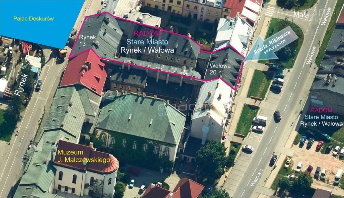 Dom na sprzedaż Radom, Centrum, Wałowa 20/ Rynek 13  1056m2 Foto 1