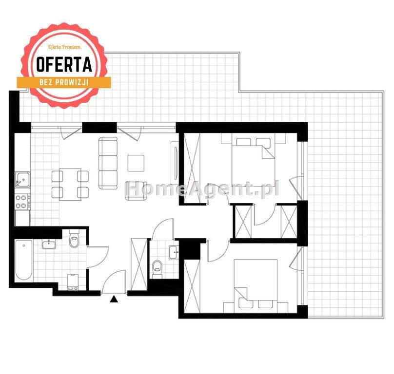Mieszkanie trzypokojowe na sprzedaż Katowice, Wełnowiec, Bytkowska  60m2 Foto 6