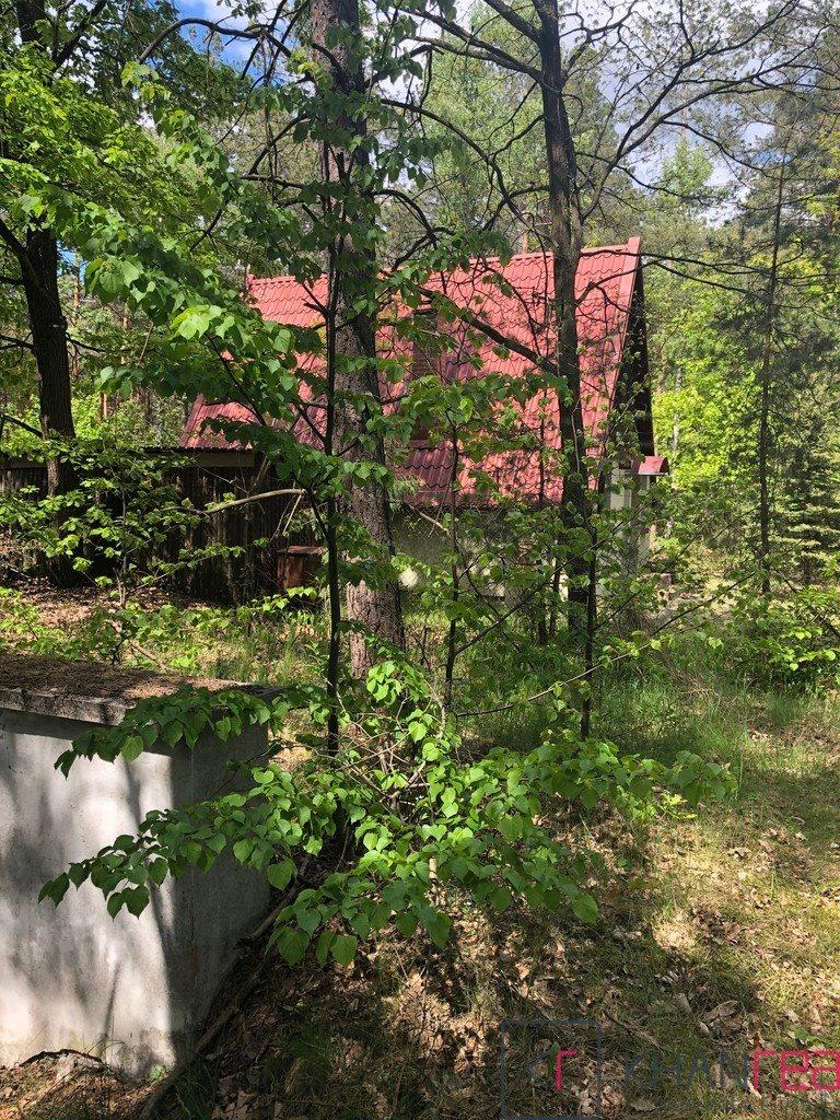 Działka leśna z prawem budowy na sprzedaż Izabelin C, Krótka  1451m2 Foto 11