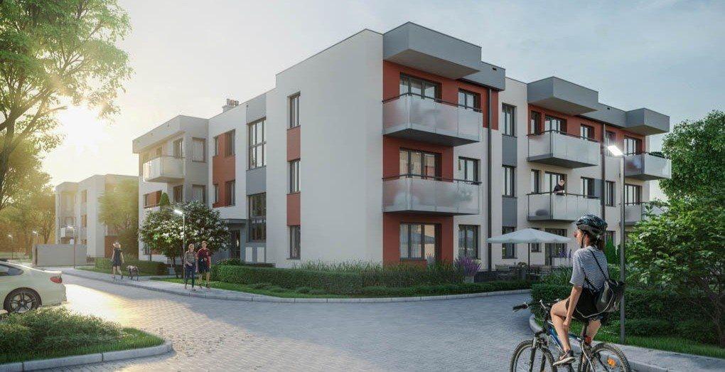 Mieszkanie dwupokojowe na sprzedaż Wrocław, Wojnów  44m2 Foto 1