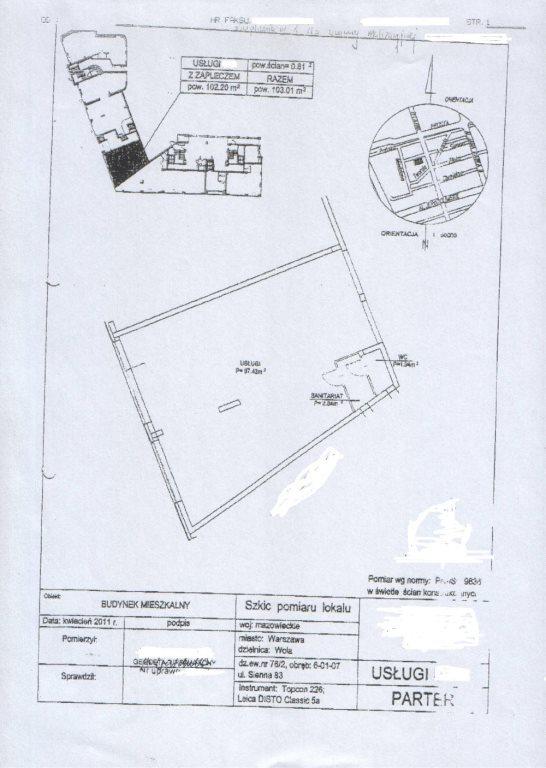 Lokal użytkowy na sprzedaż Warszawa, Wola, Stara Wola, żelazna  102m2 Foto 5