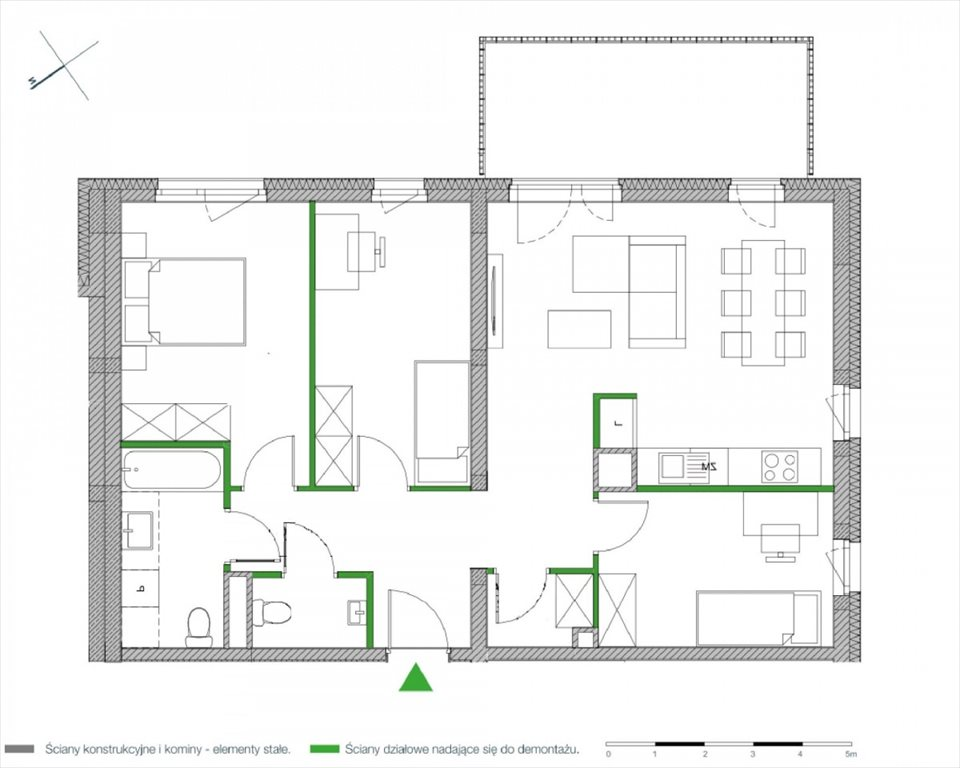 Mieszkanie czteropokojowe  na sprzedaż Warszawa, Białołęka, Klasyków  77m2 Foto 2