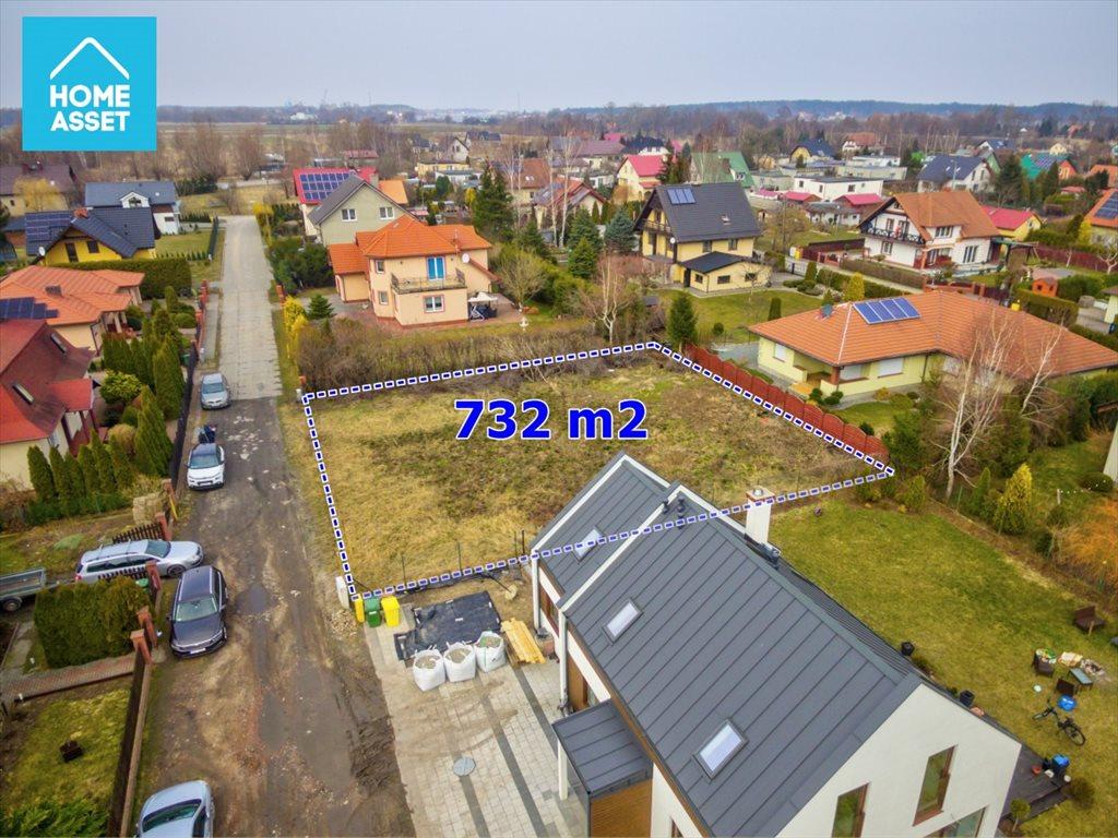 Działka budowlana na sprzedaż Wiślinka, Koralowa  732m2 Foto 10