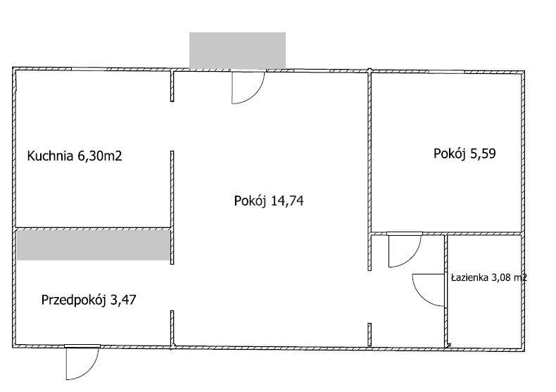 Mieszkanie dwupokojowe na sprzedaż Bydgoszcz, Błonie  35m2 Foto 6