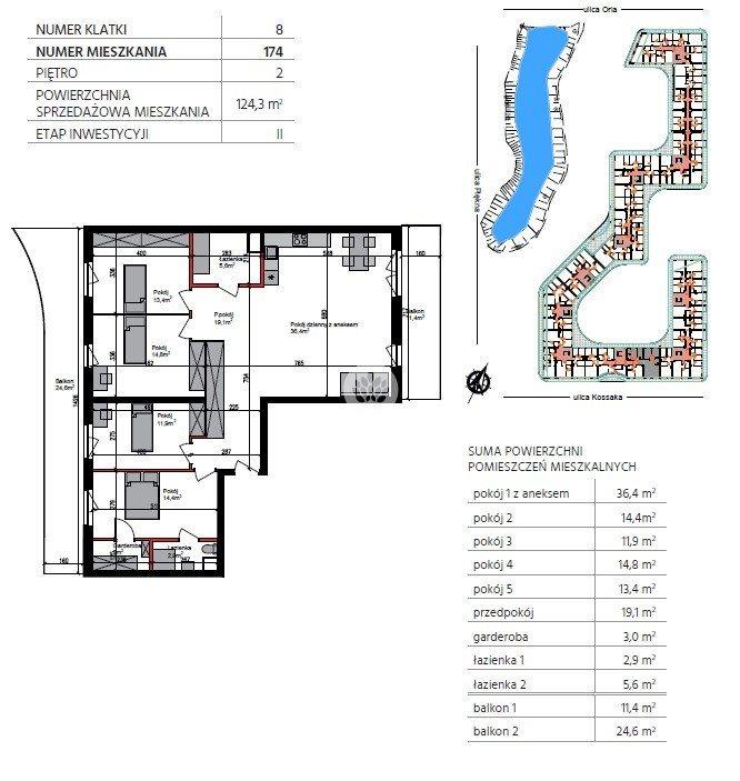 Mieszkanie na sprzedaż Bydgoszcz, Szwederowo, Piękna  124m2 Foto 6