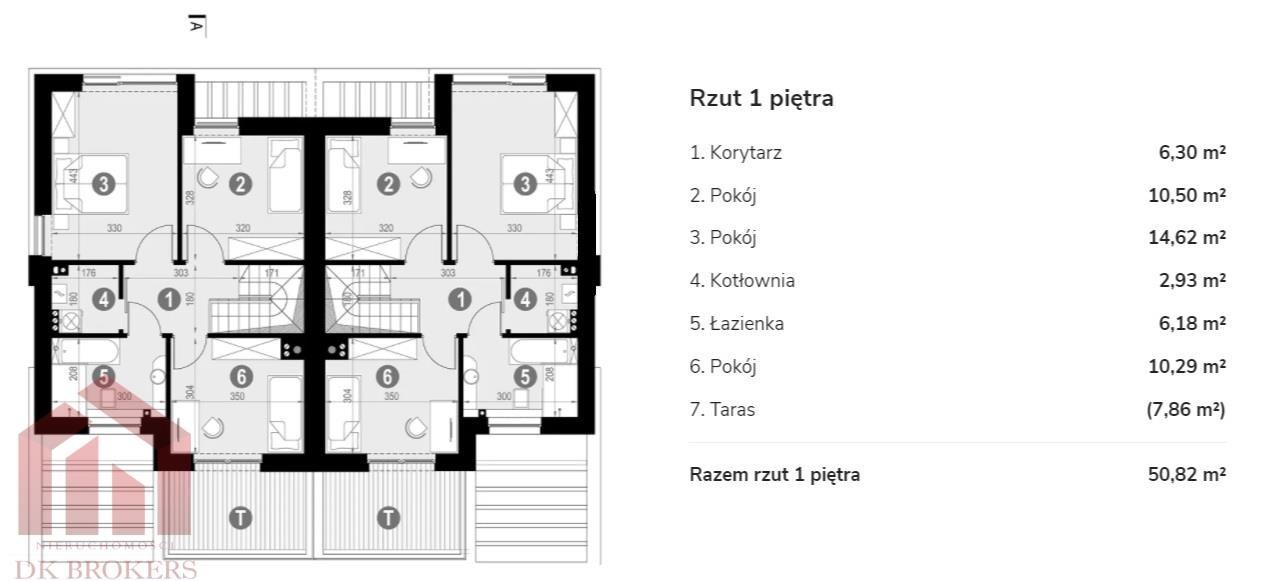 Dom na sprzedaż Rzeszów, Zwięczyca, Karkonoska  113m2 Foto 6