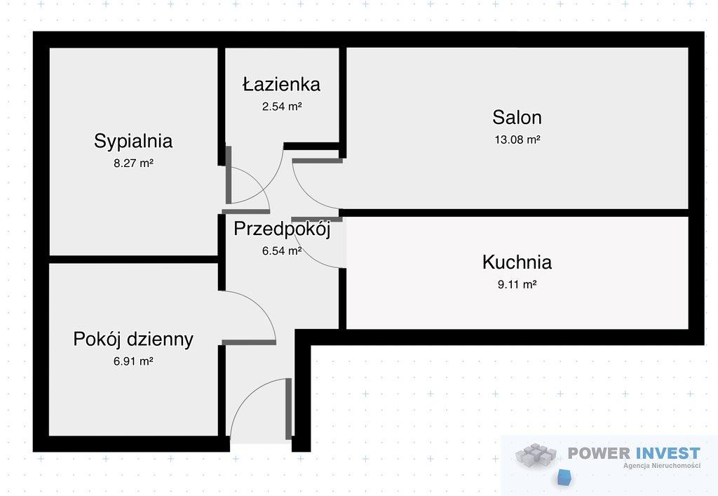 Mieszkanie czteropokojowe  na sprzedaż Katowice, Koszutka, Owocowa  48m2 Foto 1