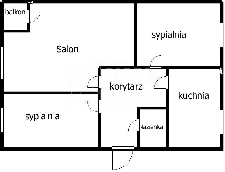 Mieszkanie trzypokojowe na sprzedaż Gdynia, Witomino, Chwarznieńska  53m2 Foto 12