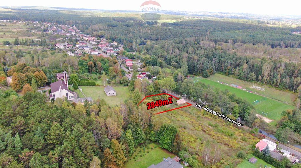 Działka budowlana na sprzedaż Dąbrowa Górnicza, Okradzionów, Białej Przemszy  2849m2 Foto 10