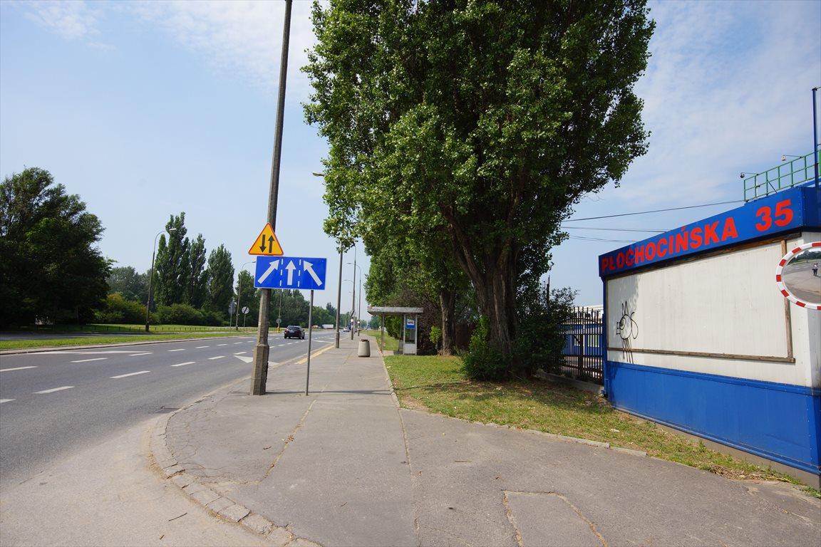 Działka komercyjna pod dzierżawę Warszawa, Białołęka, Płochocińska 35  1000m2 Foto 4