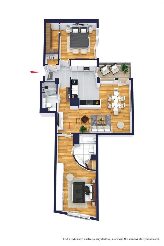 Mieszkanie trzypokojowe na sprzedaż Warszawa, Mokotów, Sielecka  98m2 Foto 2
