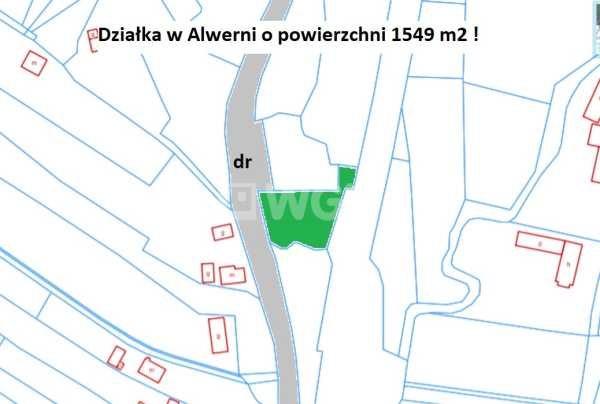 Działka rolna na sprzedaż Alwernia, Bolesława Prusa  1549m2 Foto 2