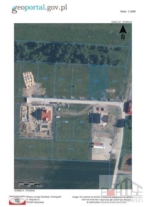Działka budowlana na sprzedaż Mazurowice  1250m2 Foto 5
