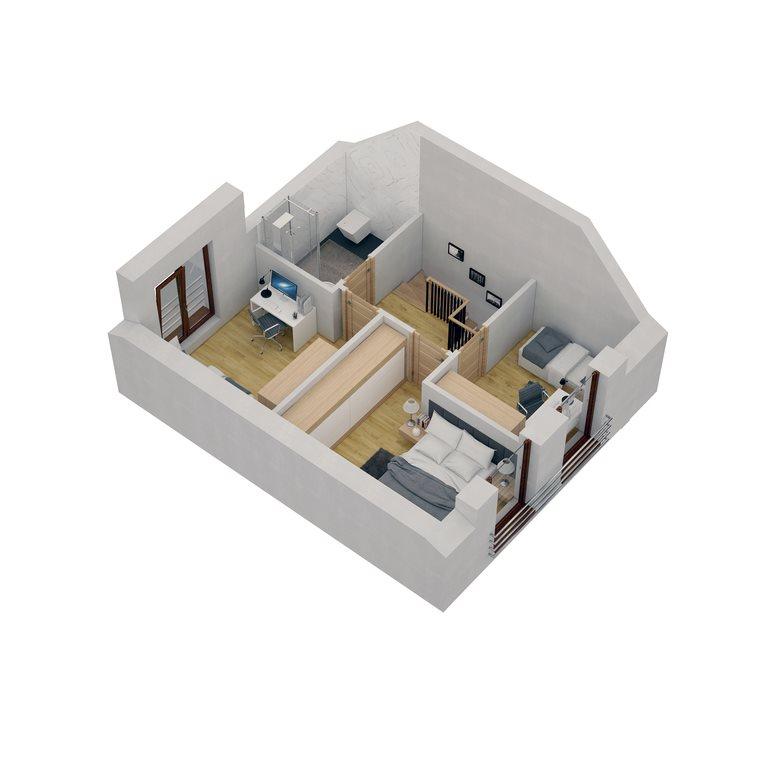 Dom na sprzedaż Suchy Las  76m2 Foto 12