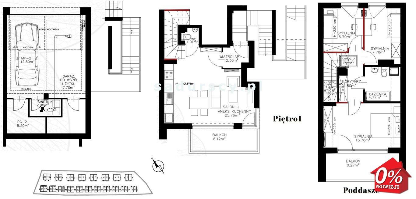 Mieszkanie czteropokojowe  na sprzedaż Kraków, Bronowice, Bronowice Wielkie, Pasternik - okolice  72m2 Foto 3