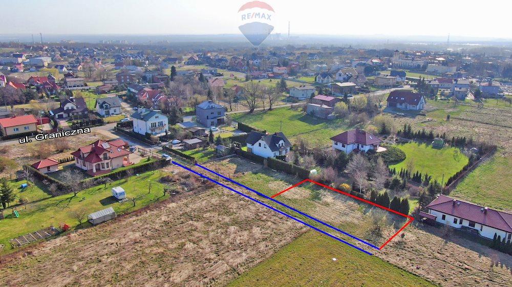 Działka budowlana na sprzedaż Mysłowice, Morgi, Graniczna  743m2 Foto 1