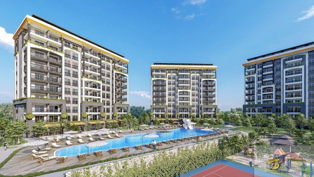 Mieszkanie dwupokojowe na sprzedaż Turcja, Alanya, Avsallar, Alanya, Avsallar  53m2 Foto 6