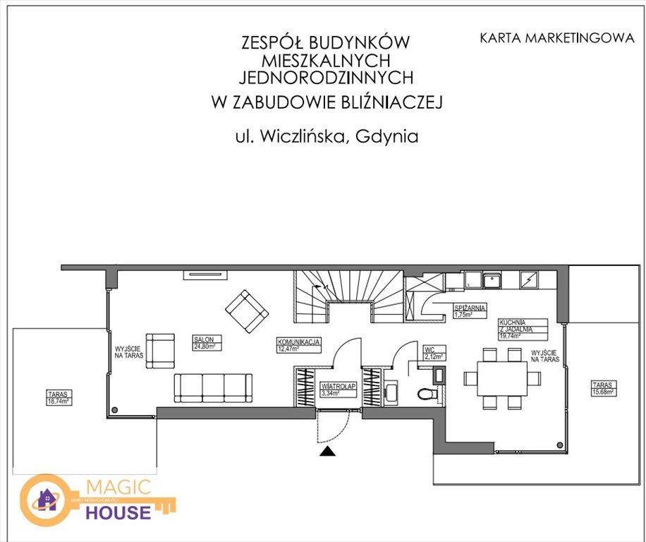 Dom na sprzedaż Gdynia, Dąbrowa, Wiczlińska  196m2 Foto 7