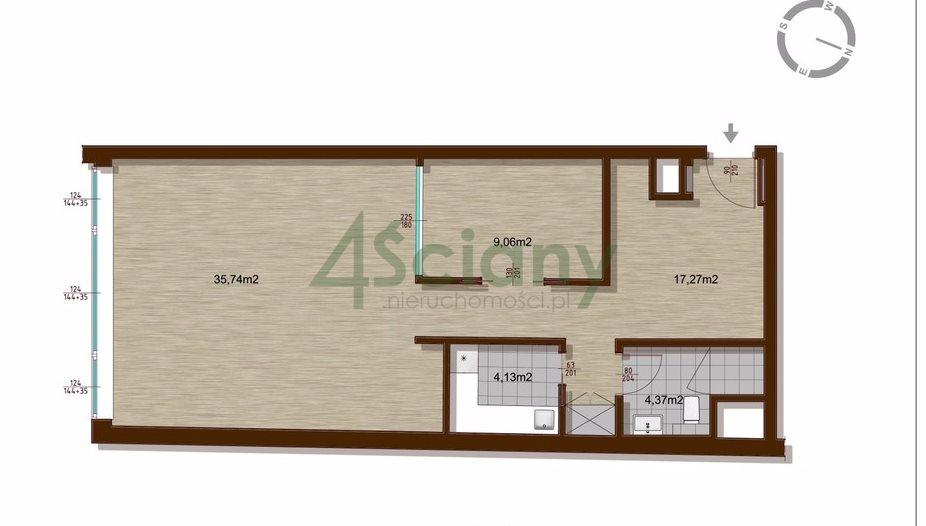 Mieszkanie dwupokojowe na sprzedaż Warszawa, Śródmieście, Bagno  72m2 Foto 8