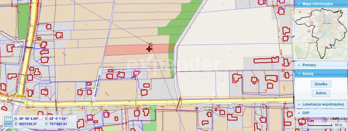 Działka budowlana na sprzedaż Rzeszów  2972m2 Foto 2