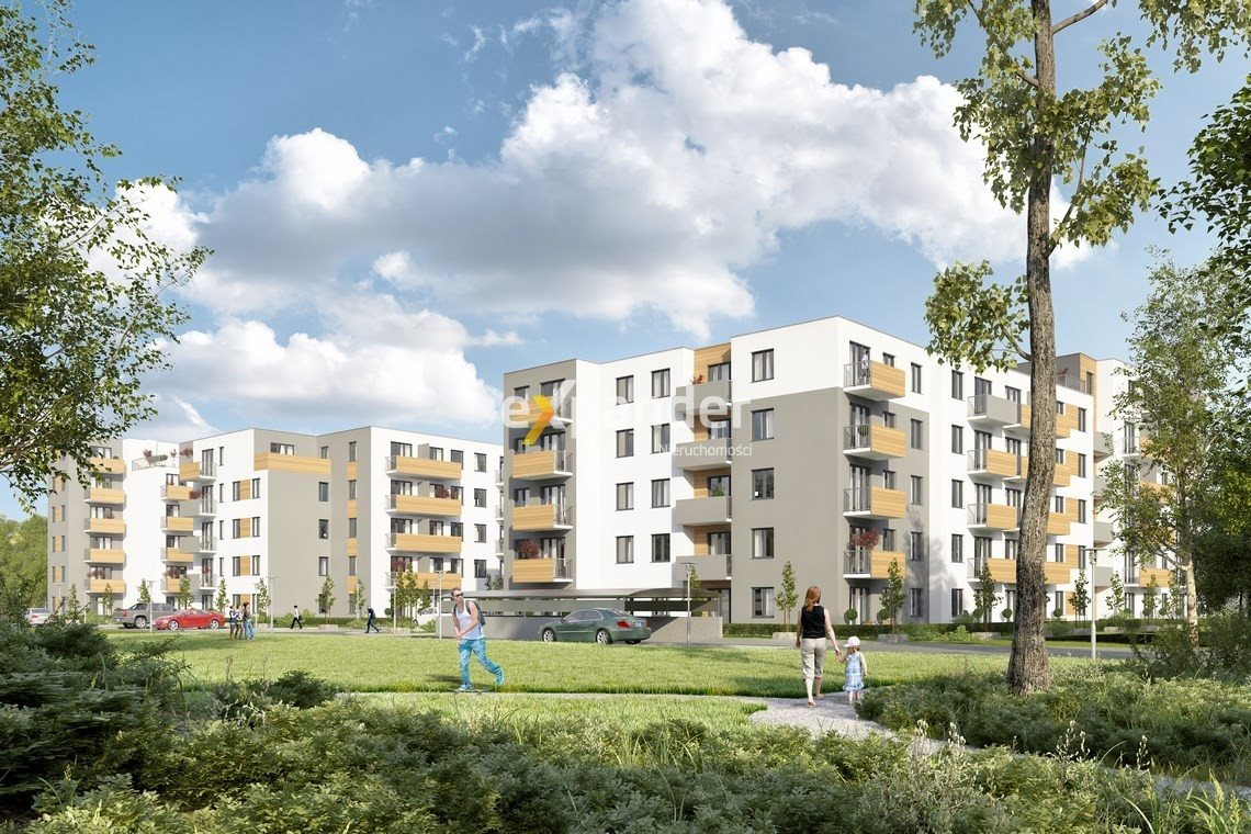 Mieszkanie trzypokojowe na sprzedaż Poznań, Naramowice  47m2 Foto 1