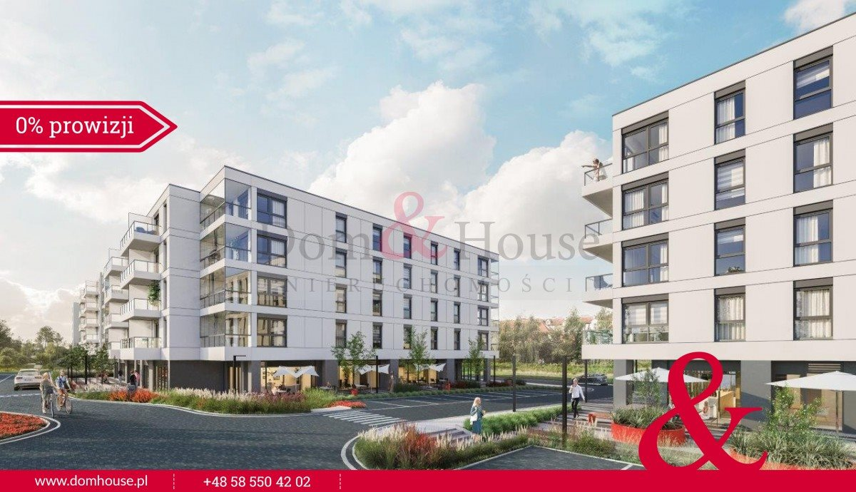 Mieszkanie trzypokojowe na sprzedaż Gdańsk, Morena, Kraśnięta  65m2 Foto 3