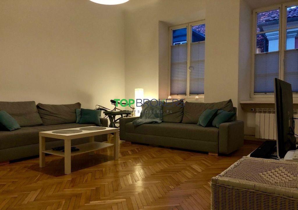 Mieszkanie dwupokojowe na wynajem Warszawa, Śródmieście Stare Miasto, Świętojańska  56m2 Foto 2