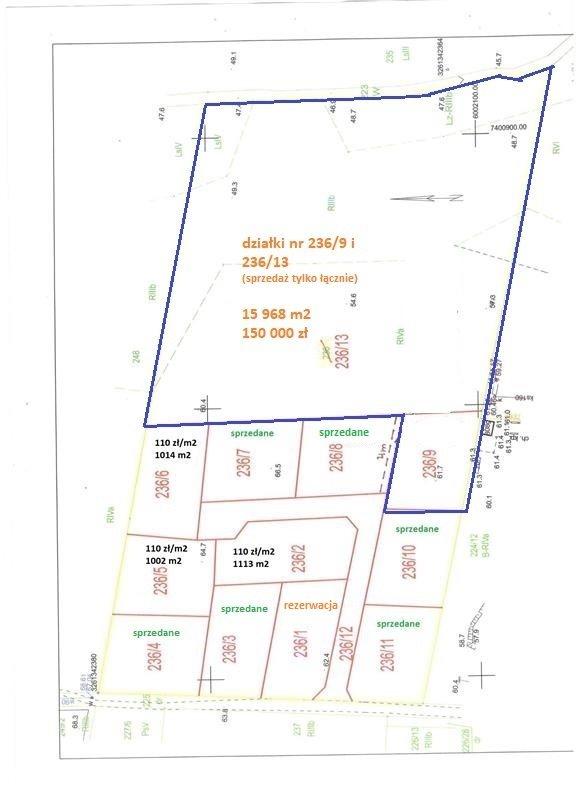 Działka inna na sprzedaż Gronowo Górne, Las, Gronowo Górne  15968m2 Foto 11