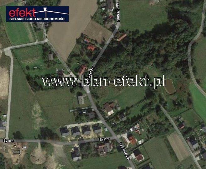 Działka budowlana na sprzedaż Bielsko-Biała, Hałcnów  1381m2 Foto 1