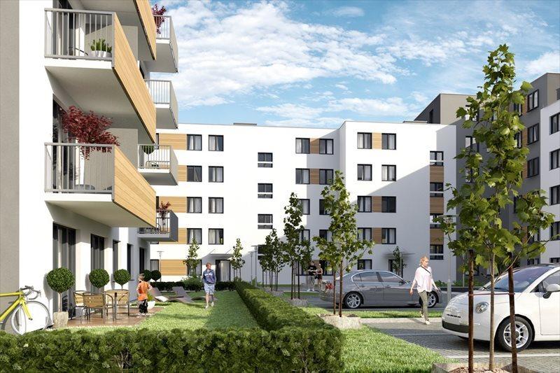 Mieszkanie trzypokojowe na sprzedaż Poznań, Naramowice, Karpia Naramowicka Sielawy Rubież Dworska Sarmacka  48m2 Foto 1