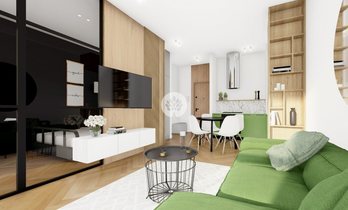 Mieszkanie dwupokojowe na sprzedaż Bydgoszcz, Okole, Garbary  49m2 Foto 2