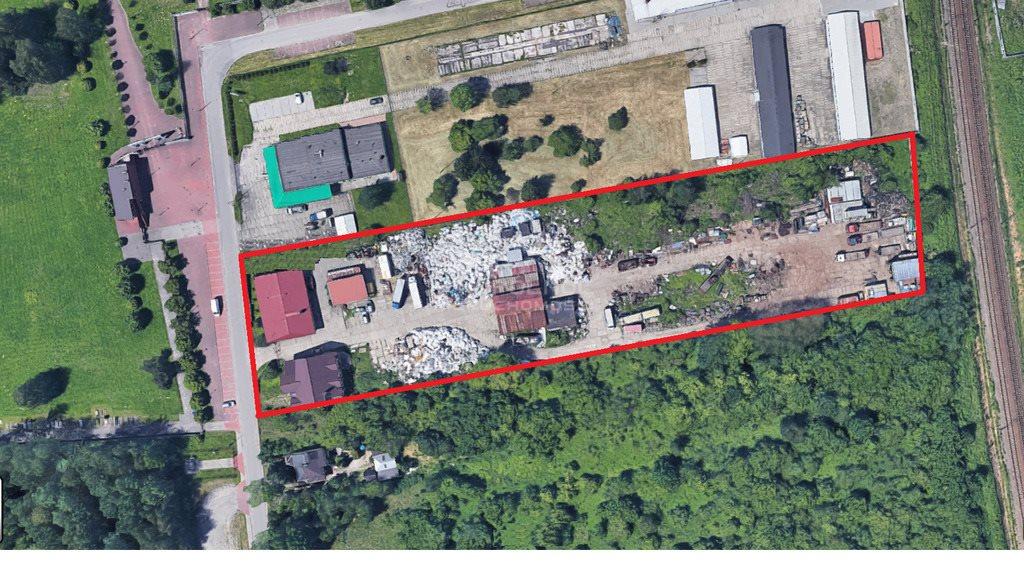 Działka przemysłowo-handlowa na sprzedaż Dąbrowa Górnicza, Tworzeń  11781m2 Foto 2