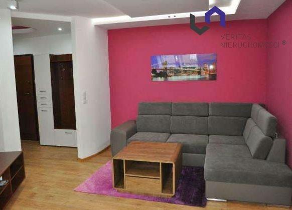 Mieszkanie dwupokojowe na wynajem Katowice, Dolina Trzech Stawów, Paderewskiego  47m2 Foto 4