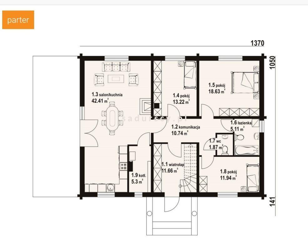 Dom na sprzedaż Trąbki  186m2 Foto 3