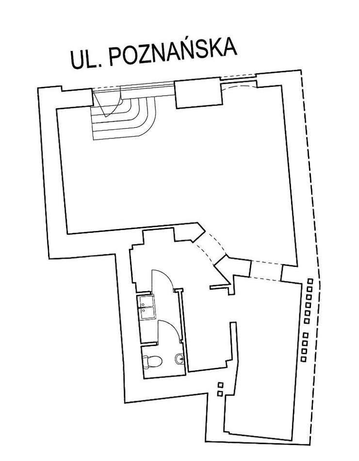 Lokal użytkowy na sprzedaż Poznań, Jeżyce, Poznańska 24  64m2 Foto 5