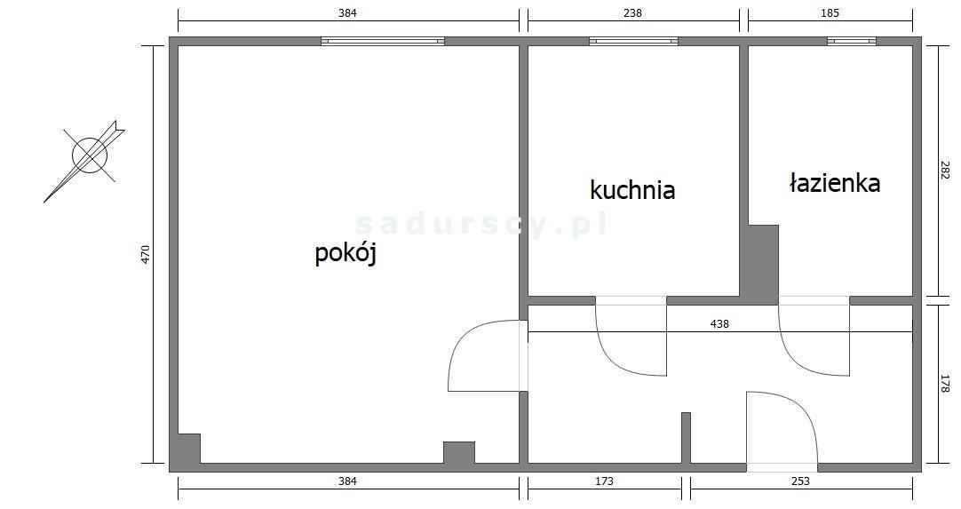 Kawalerka na wynajem Kraków, Prądnik Czerwony, Osiedle Oficerskie, Wieniawskiego  38m2 Foto 3