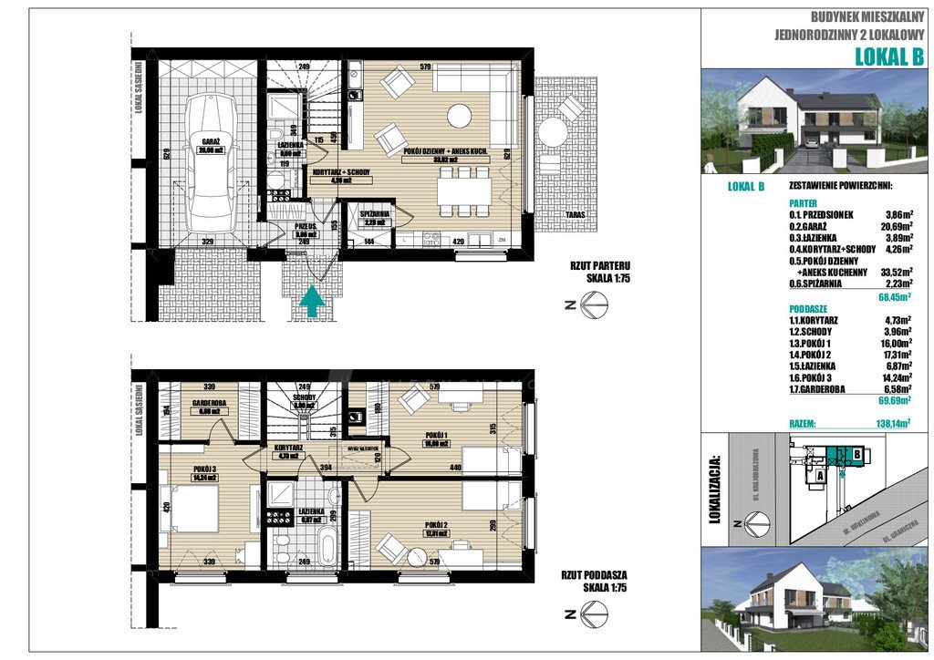 Dom na sprzedaż Dobra  138m2 Foto 4