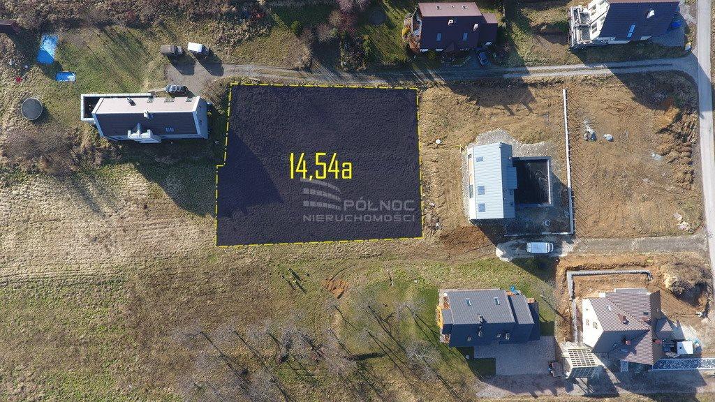 Działka budowlana na sprzedaż Zelków, Widokowa  1454m2 Foto 2