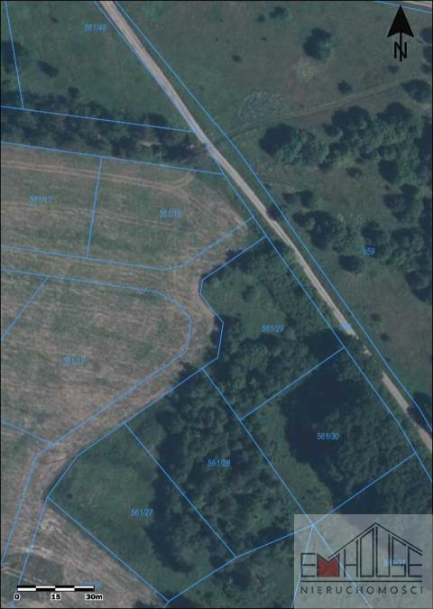 Działka rolna na sprzedaż Mrozów  2205m2 Foto 2