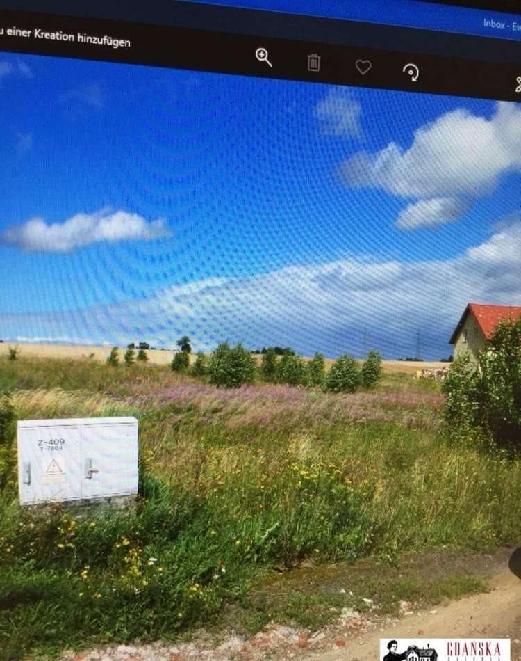 Działka budowlana na sprzedaż Banino, wiśniowa  1516m2 Foto 1