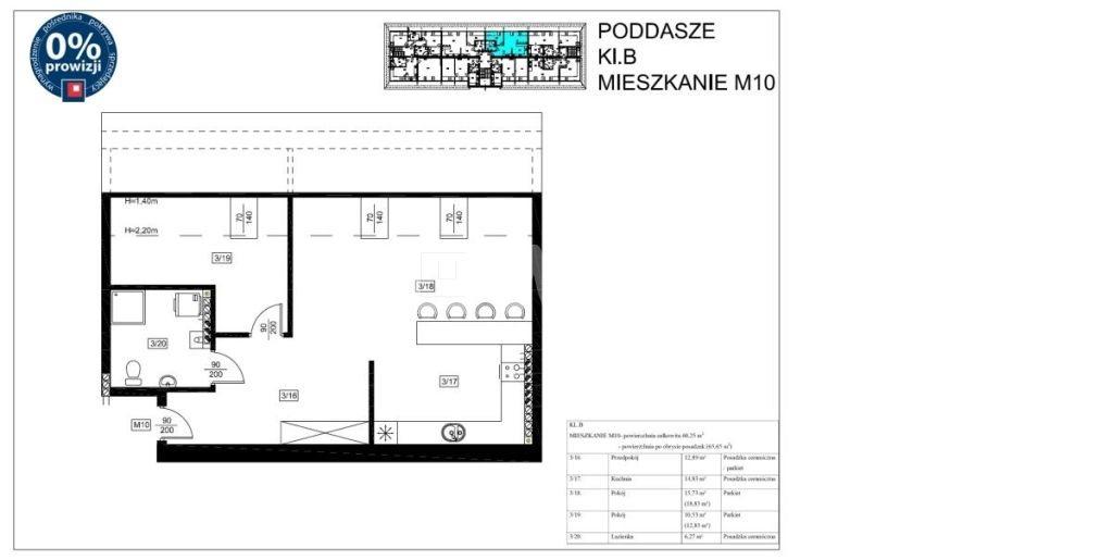 Mieszkanie dwupokojowe na sprzedaż Szprotawa, Koszarowa  60m2 Foto 2