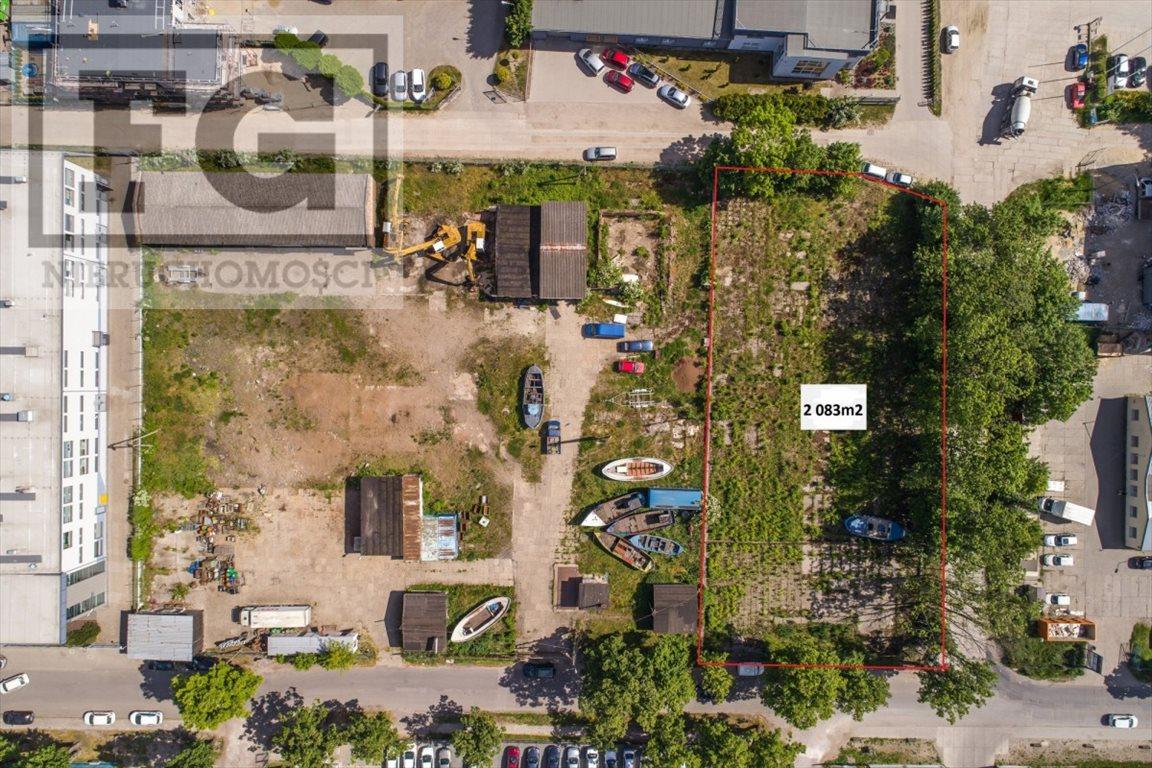 Działka przemysłowo-handlowa na sprzedaż Gdańsk, Letnica  2083m2 Foto 4