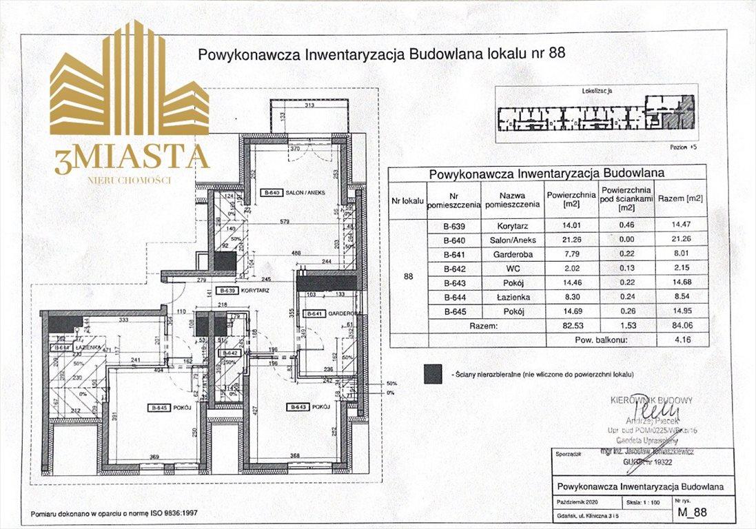 Mieszkanie czteropokojowe  na sprzedaż Gdańsk, Wrzeszcz  84m2 Foto 9